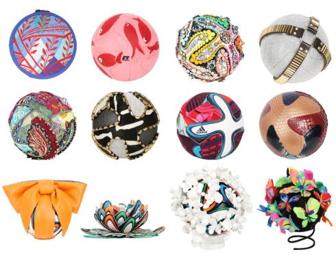 Palloni Mondiali 2014 personalizzati dagli stilisti