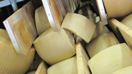 Parmigiano Reggiano danneggiato dal terremoto