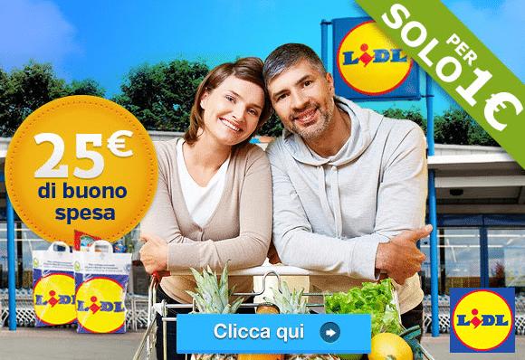 Per solo 1 euro Lidl