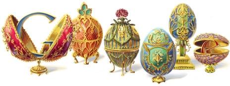 Peter Carl Fabergé, Google