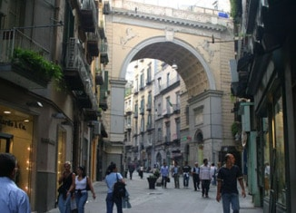 Ponte Chiaia a Napoli
