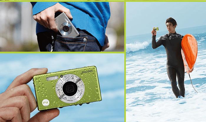 Fotocamera impermeabile Ricoh PX 16 Megapixel