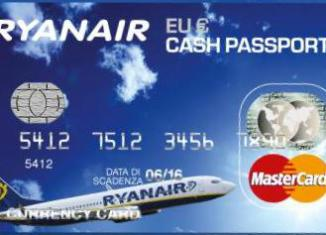 Carta Ryanair CashPassport Italia
