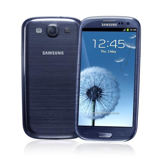 Samsung Galaxy S3 blu
