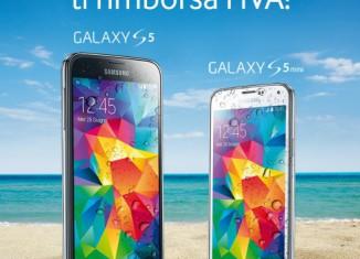 Samsung rimborso IVA su prezzo Galaxy 5