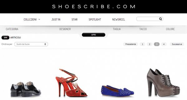 Scarpe su Shoescribe.com