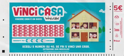 Schedina Vinci Casa Sisal
