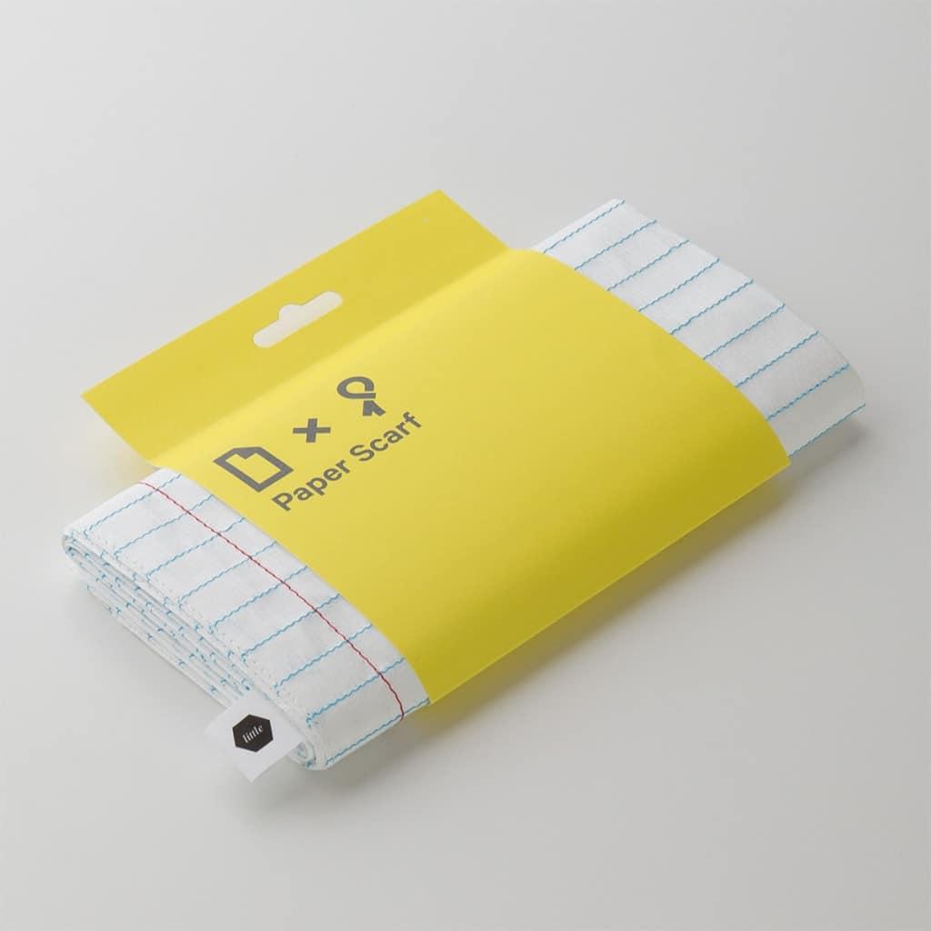 Sciarpa foglio di carta