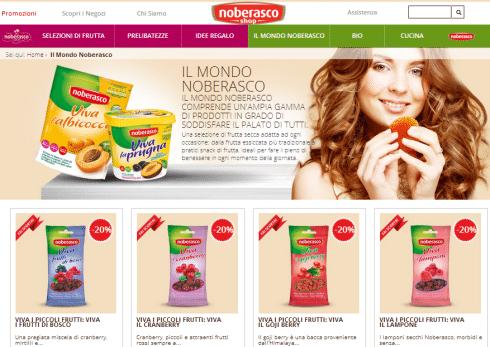 Shop online Noberasco
