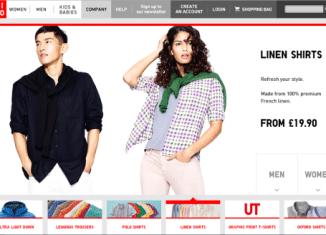 Shop online Uniqlo Italia