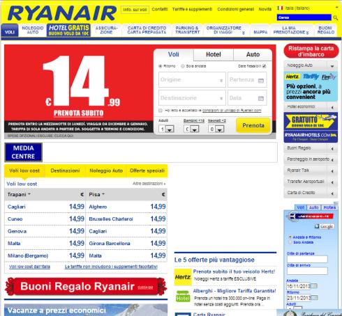 Sito Ryanair