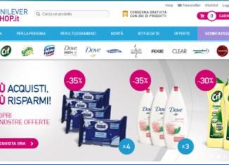 Sito UnileverShop