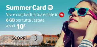 Summer Card 2015 Vodafone