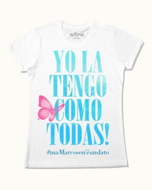 Tshirt Yo la tengo como todas Laura Pausini