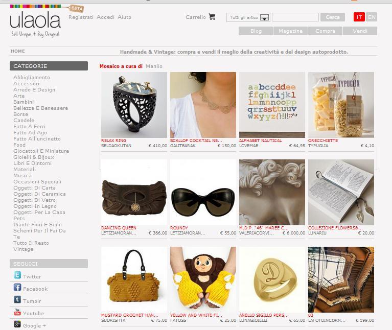 Ulaola.com negozio online