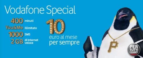 Tariffa Vodafone Special