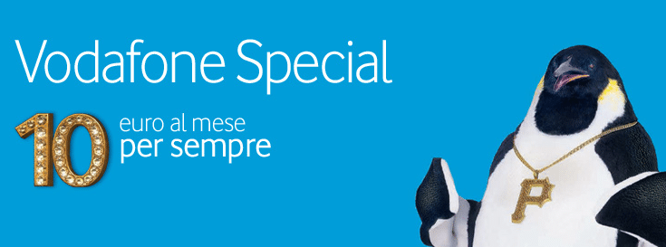 Vodafone Special 10 euro