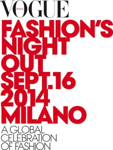 Vogue Fashion Night Out Milano 2014
