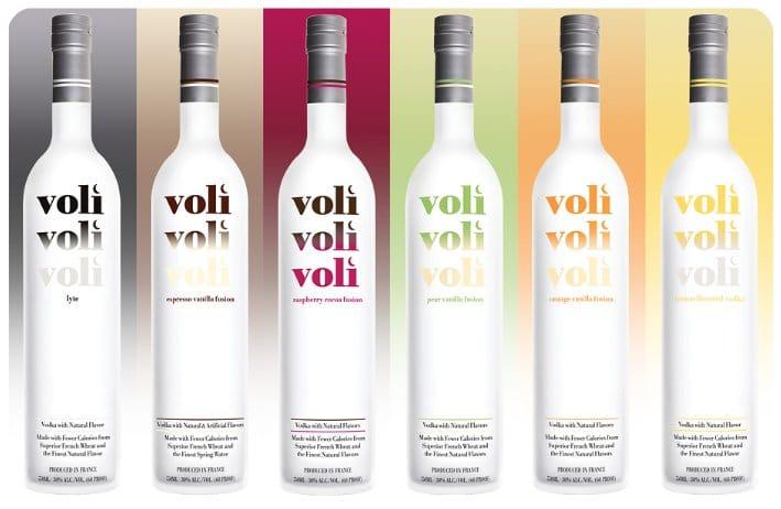 Voli, vodka light poche calorie